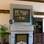 Fireplace - Ballroom Foyer